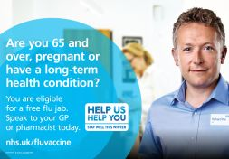 Flu vaccination - it protects your health