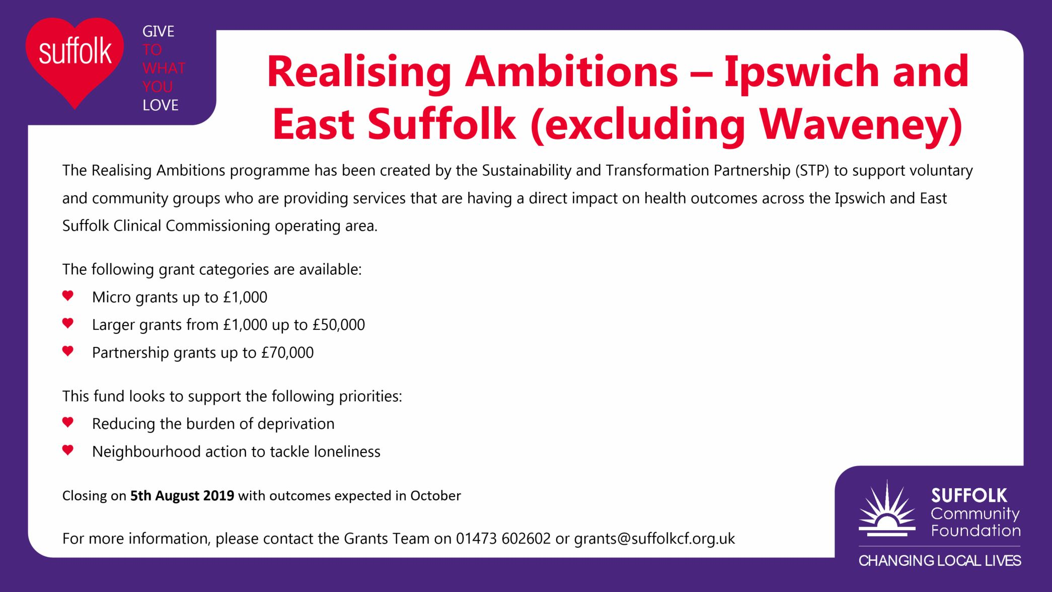 Realising Ambitions – Ipswich and east Suffolk