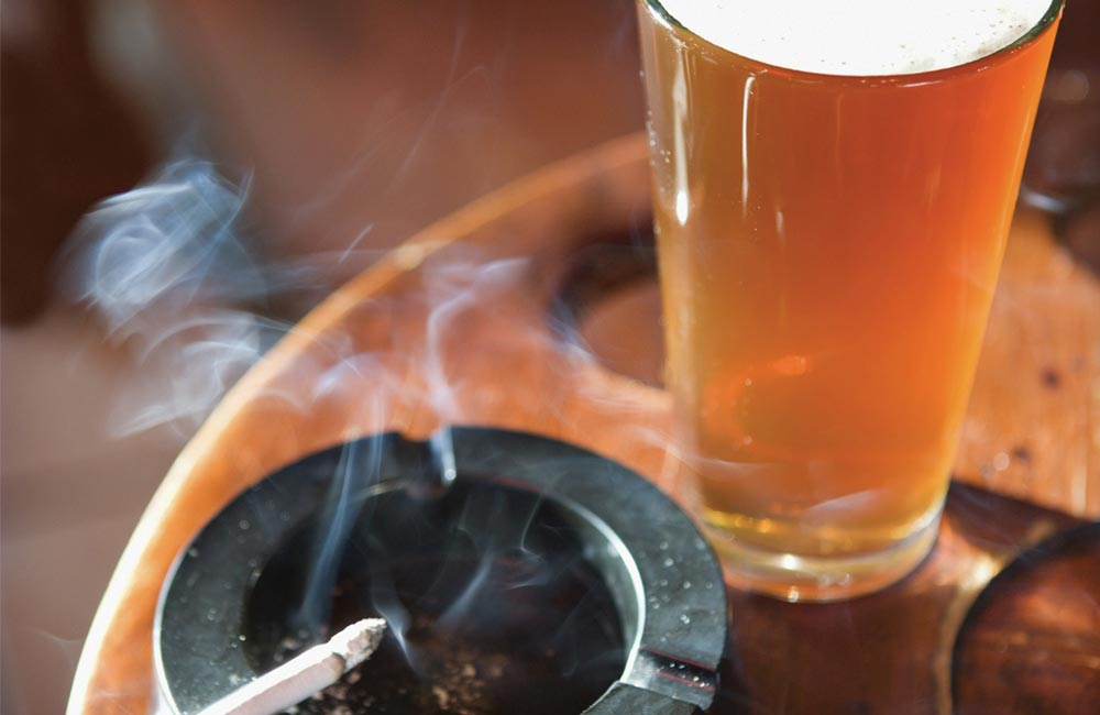 Image result for smoke alcohol
